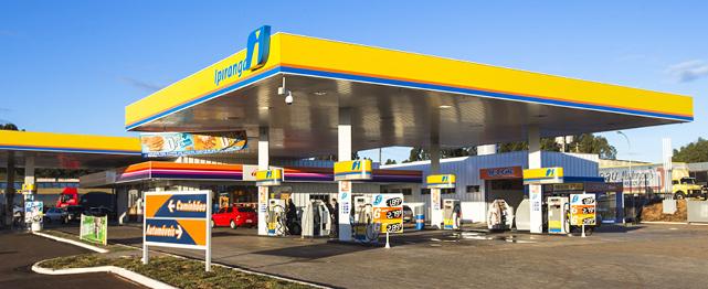 Estrutura Metálica Posto de Combustível